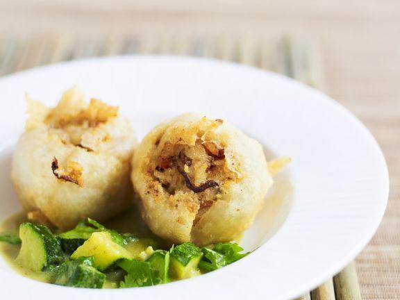Shrimps-Reisbällchen