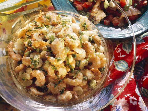 Shrimpssalat