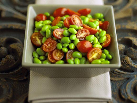 Sojabohnensalat