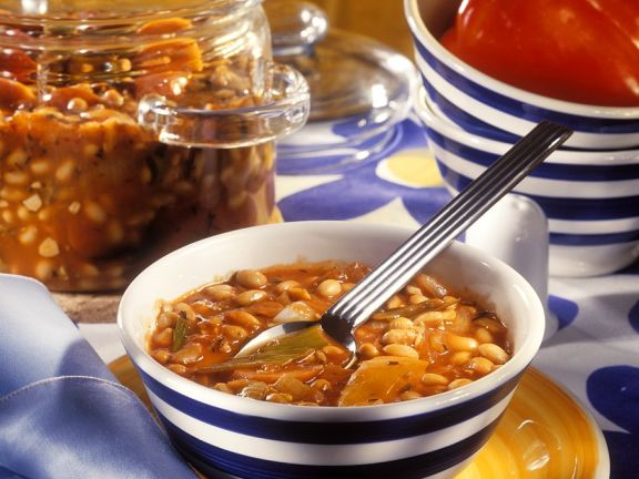 Sojabohnensuppe