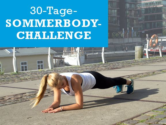 30 Tage Sommerbody Challenge Fit In Vier Wochen Eat Smarter