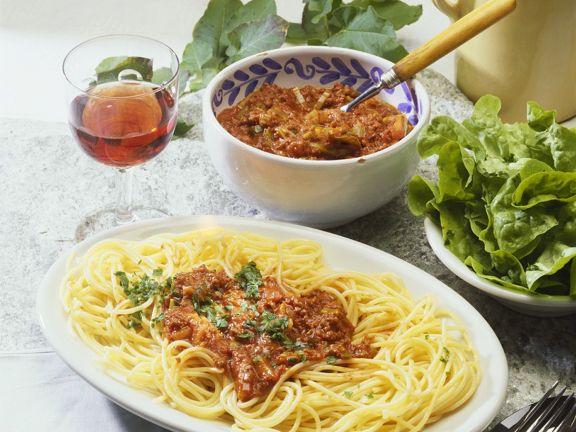 Spaghetti Bolognese Italien