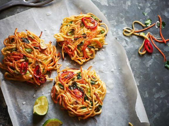 Spaghetti-Gemüse-Puffer