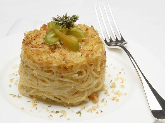 Spaghetti-Gratin