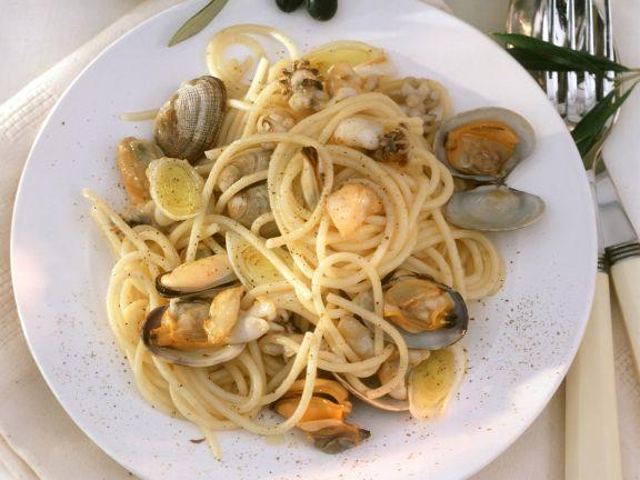 Spaghetti nach venezianischer Art