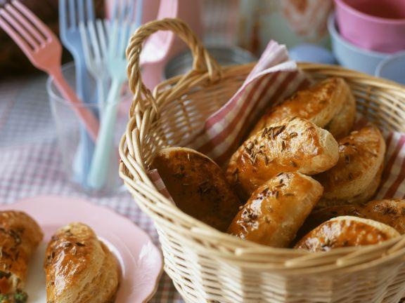 Spanische Teigtaschen (Empanadas)
