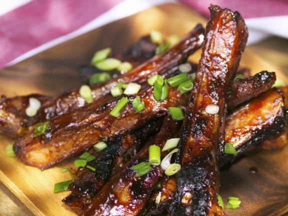 Rezept Spareribs Vom Gasgrill : Spareribs vom grill rezept eat smarter