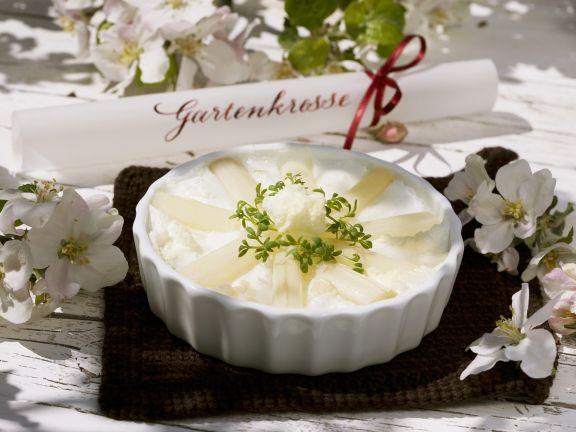 Spargel-Baiser-Kuchen