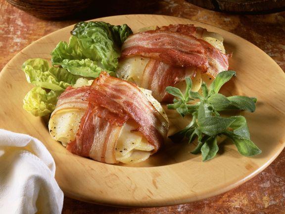 Speck-Kartoffel-Päckchen
