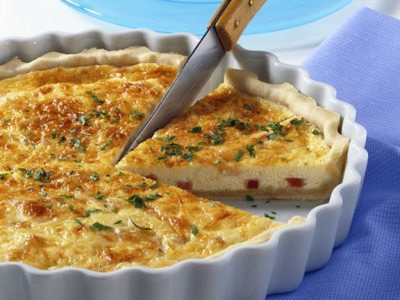 speckquiche quiche lorraine rezept eat smarter. Black Bedroom Furniture Sets. Home Design Ideas
