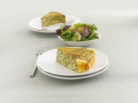 Spinat-Lachs-Kuchen