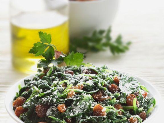 Spinat mit Gemüse