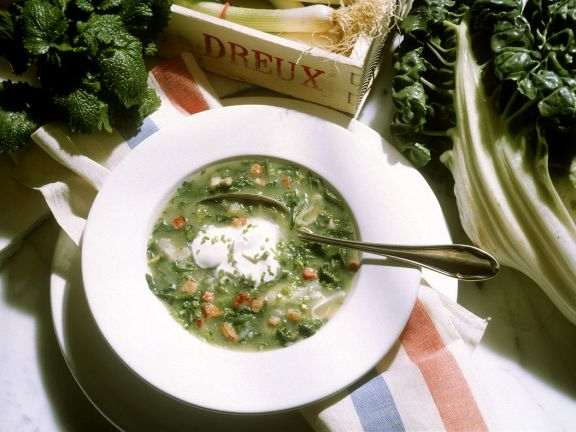 Spinatsuppe