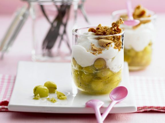 Stachelbeer-Trifle