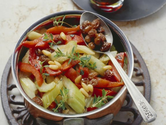 Stangensellerie Paprika Gemüse Rezept Eat Smarter
