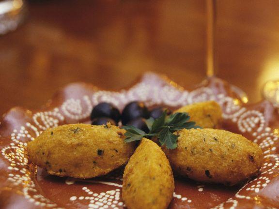 Stockfisch-Kartoffel-Bällchen auf portugiesische Art