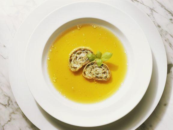 Strudelscheiben-Suppe