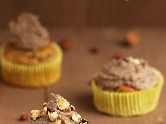 Süße Bohnen-Cupcakes