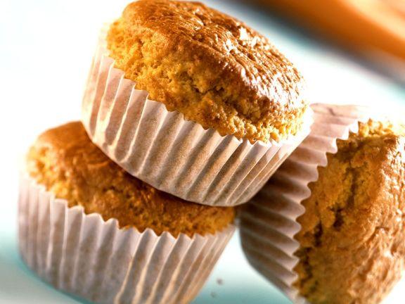 Süße Möhrenmuffins