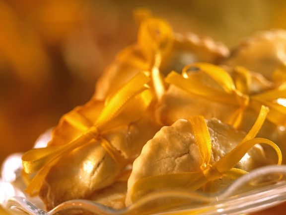 Süße Ravioliplätzchen