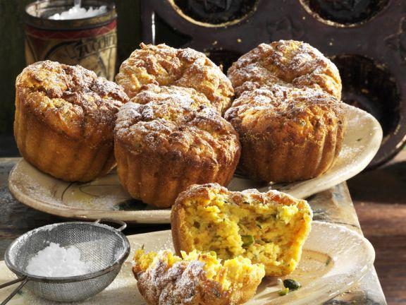 Süße Zucchini-Karotten-Muffins