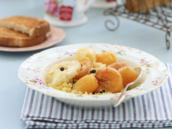 Süßer Aprikosen-Couscous