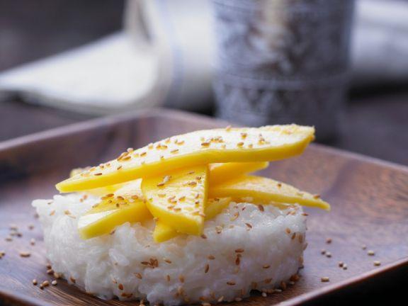 Süßer Kokosreis
