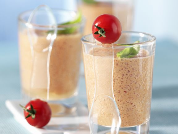 Süßer Tomaten-Mandel-Smoothie