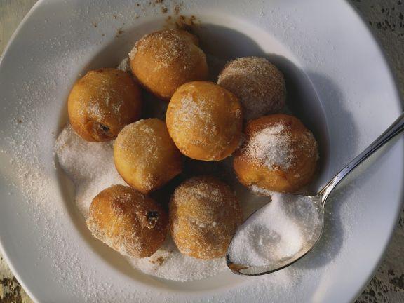 Süßes Kartoffel-Schmalzgebäck