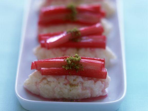 Süßes Rhabarber-Sushi
