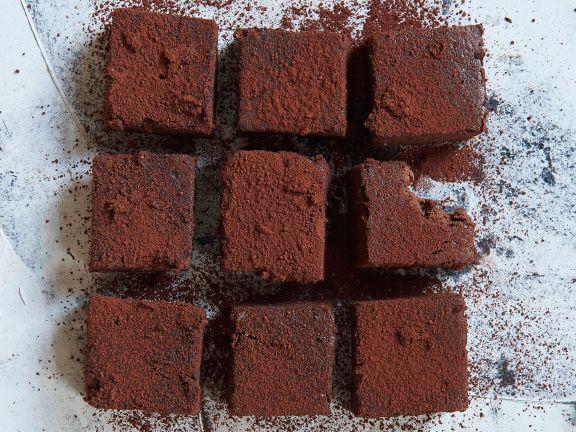 Süßkartoffel-Brownies mit Datteln