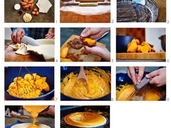 Süßkartoffelkuchen