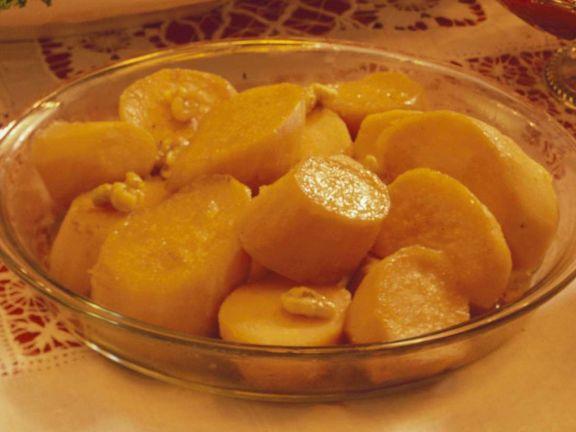 Süßkartoffeln aus dem Ofen