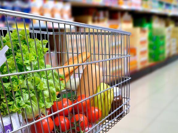 Im Supermarkt gute Lebensmittel erkennen