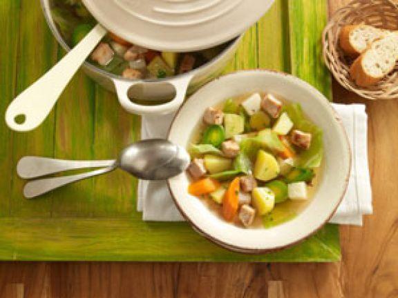 Suppen und Eintöpfe mit Gemüse