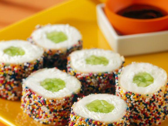 Sushi-Eisröllchen
