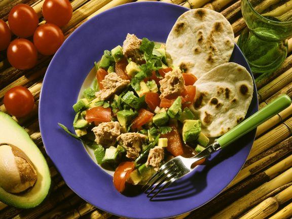 "Tacos ""Mexiana"" mit Thunfischsalat"