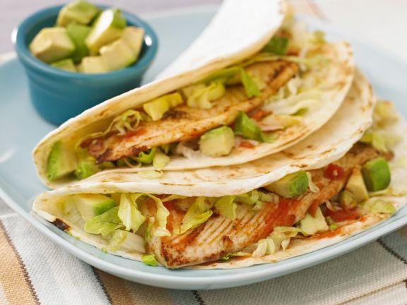 Tacos mit Fisch