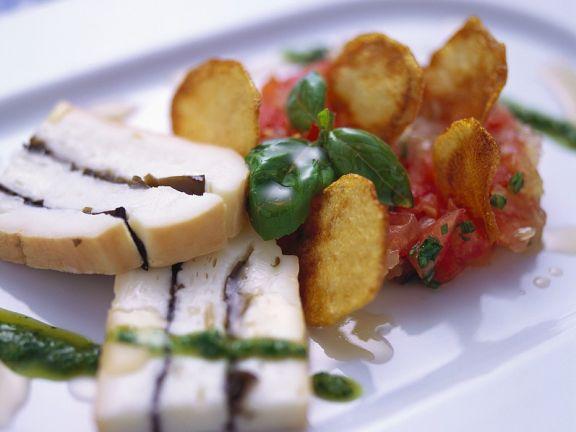Taleggio mit Tomaten