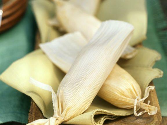 Tamales mit Entenfüllung