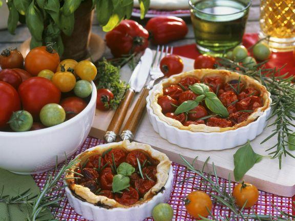Tarte mit Tomaten