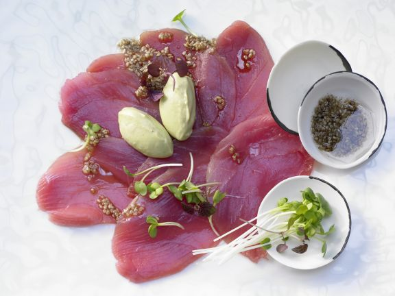 Thunfisch-Carpaccio