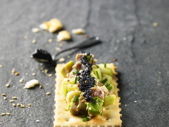Thunfisch-Cracker