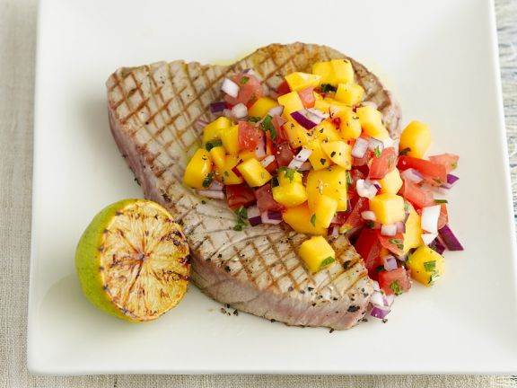 Thunfisch mit Salsa