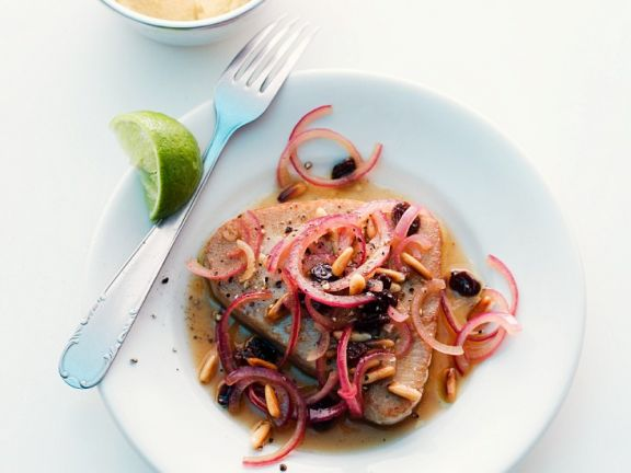 Thunfisch mit Zwiebeln