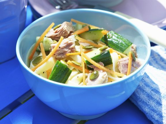 Thunfisch-Pasta-Salat