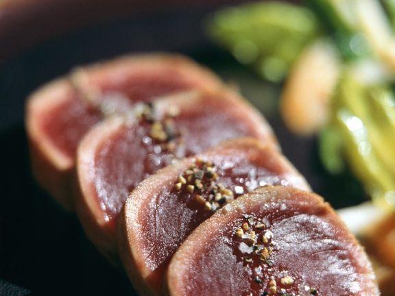 Thunfisch vom Grill