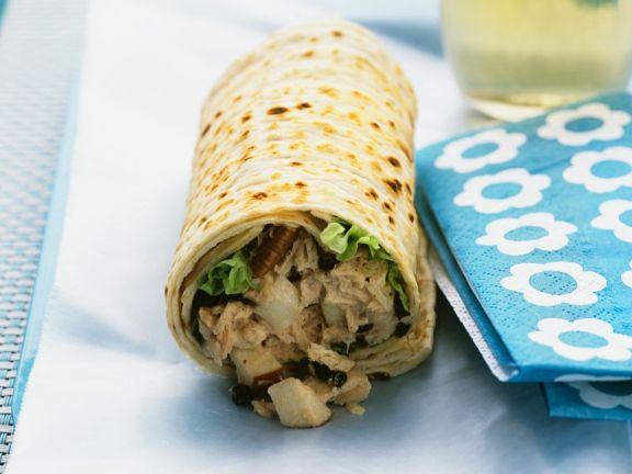 Thunfisch-Wraps