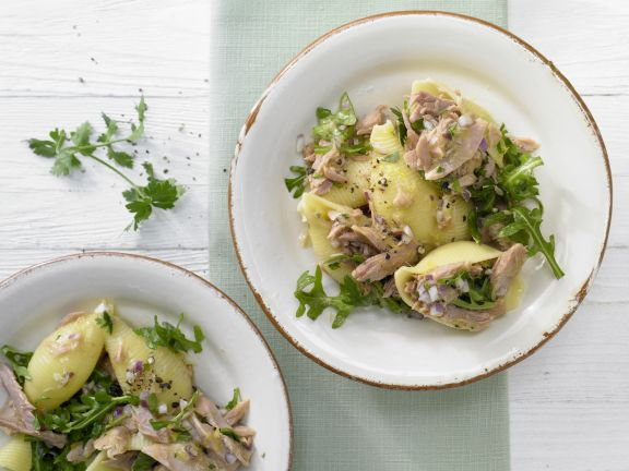 Thunfisch-Zitronen-Pasta