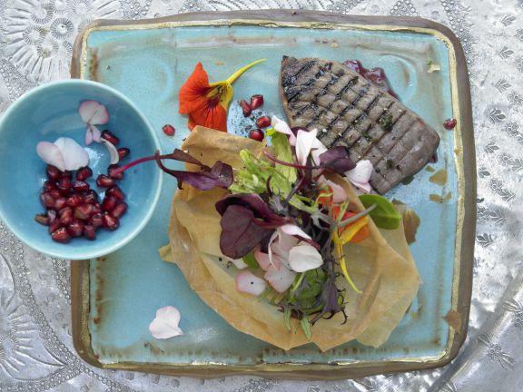 Thunfischfilets auf algerische Art